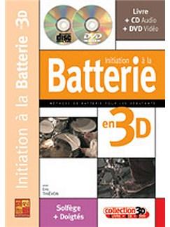 Initiation a la Batterie en 3D Books, CDs and DVDs / Videos | Drums