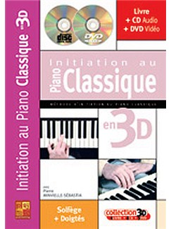 Initiation Au Piano Classique en 3D Books, CDs and DVDs / Videos | Piano