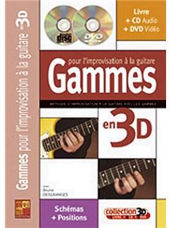 Gammes pour l'Improvisation à la Guitare en 3D Books, CDs and DVDs / Videos | Guitar