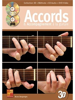 Accords & Accompagnement à la Guitare en 3D Books, CDs and DVDs / Videos | Guitar