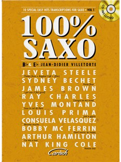 100% Saxo Books and CDs | Saxophone