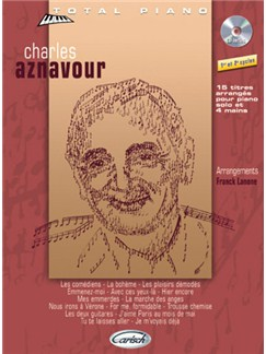 Charles Aznavour: Collection Total Piano CD et Livre | Piano