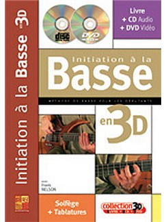 Initiation à la Basse en 3D Books, CDs and DVDs / Videos | Bass Guitar