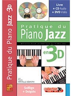 Pratique du Piano Jazz en 3D Books, CDs and DVDs / Videos | Piano