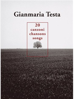 Gianmaria Testa: 20 Chansons - Canzoni - Songs Livre | Piano, Vocal & Guitar