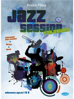 Jazz Session CD et Livre | Drums