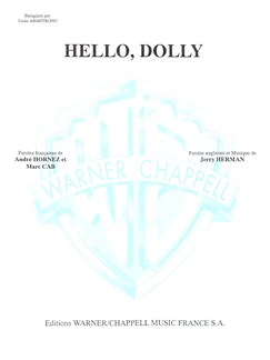 Louis Armstrong: Hello, Dolly ! Books | Piano & Vocal