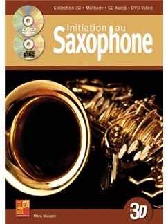 Initiation Au Saxophone en 3D Books, CDs and DVDs / Videos | Saxophone