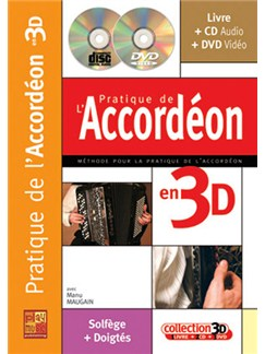 Pratique de l'accordéon in 3D Books, CDs and DVDs / Videos | Accordion