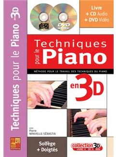 Techniques pour le Piano en 3D Books, CDs and DVDs / Videos | Piano