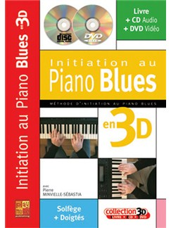 Initiation Au Piano Blues en 3D Books, CDs and DVDs / Videos | Piano