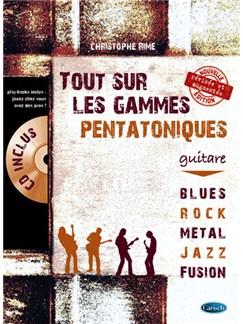 Tout Sur Les Gammes Pentatoniques Livre | Guitare