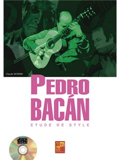 Pedro Bacan Etude de Style Books and CDs | Guitar