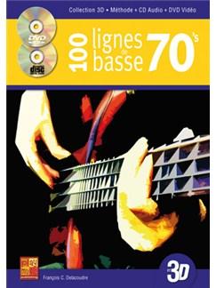 100 Lignes de Basse 70's Books, CDs and DVDs / Videos | Bass Guitar