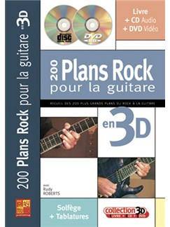 200 Plans Rock pour la Guitare en 3D Books, CDs and DVDs / Videos | Guitar