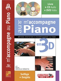 Je M'accompagne Au Piano en 3D Books, CDs and DVDs / Videos | Piano