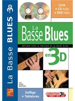 Basse Blues en 3D Books, CDs and DVDs / Videos   Bass Guitar