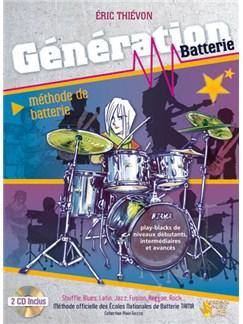 Génération Batterie CD et Livre | Drums