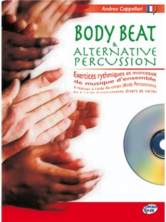Body Beat & Alternative Percussion CD et Livre | Percussion