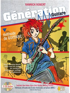 Génération Guitare Books and CDs | Guitar
