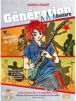 Génération Guitare CD et Livre | Guitar