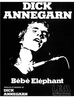Dick Annegarn: Bebe Elephant Livre | Voix, Accompagnement Piano
