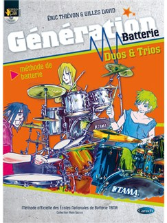 Génération Batterie Duos & Trios Books and CDs | Drums