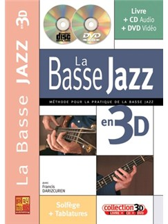 Bass Jazz en 3D (Le) Books, CDs and DVDs / Videos | Bass Guitar