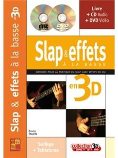 Slap et Effets à la Basse en 3D Books, CDs and DVDs / Videos | Bass Guitar