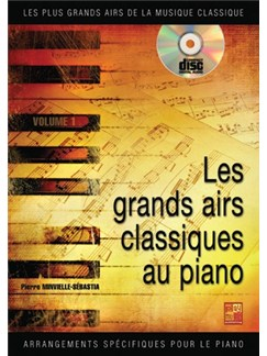 Grands Airs du Classique (Les) Books and CDs | Piano