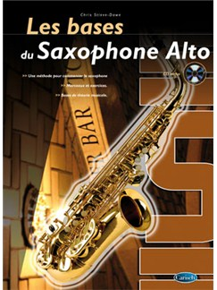Bases du Saxophone Alto (Les) Books and CDs | Saxophone