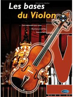 Bases du Violon (Les) Books and CDs | Violin