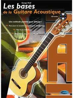 Bases de la Guitare Acoustique (Les) Books and CDs | Guitar
