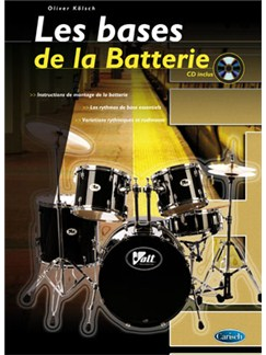 Bases de la Batterie (Les) Books and CDs | Drums