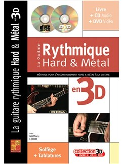 La Guitare Rythmique Hard & Métal en 3D Books, CDs and DVDs / Videos | Guitar