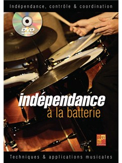 Indépendance, Contrôle & Coordination à la Batterie Books and CDs | Drums