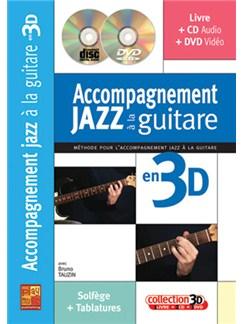 Accompagnement Jazz à la Guitare en 3D Books, CDs and DVDs / Videos | Guitar