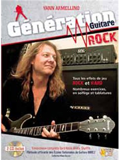 Génération Guitare Rock CD et Livre | Guitar