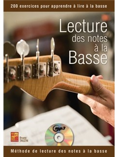 Lecture des Notes à la Basse Books and CDs | Bass Guitar