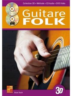 Guitare Folk 3D+CD+DVD Books, CDs and DVDs / Videos | Guitar