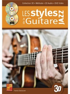 Styles Guitare Jazz 3D+CD+DVD Books, CDs and DVDs / Videos | Guitar