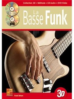 Bass Funk en 3D+CD+DVD Books, CDs and DVDs / Videos | Bass Guitar