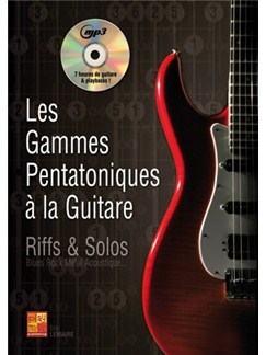 Gammes Pentatoniques Gtr+CD Books and CDs | Guitar