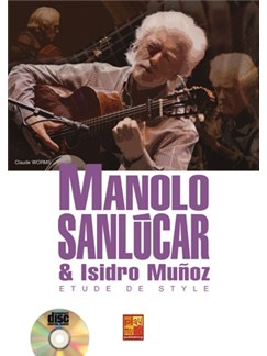 Sanlucar Etude de Style+CD Books and CDs | Guitar