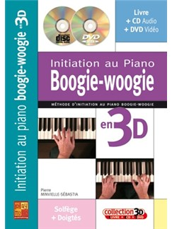 Init.Pf Boogie Woogie 3d+CD+Dv Books, CDs and DVDs / Videos | Piano