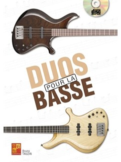 Duos pour la Basse+CD Books and CDs | Bass Guitar
