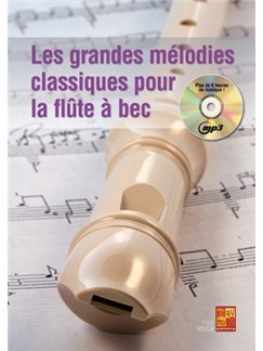 Grandes Melodies Cllass.+CD Books and CDs | Recorder