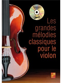 Grandes Melodies Cllass.+CD Books and CDs | Violin
