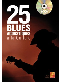 25 Blues Acoustique Gtr+DVD Books and DVDs / Videos | Guitar