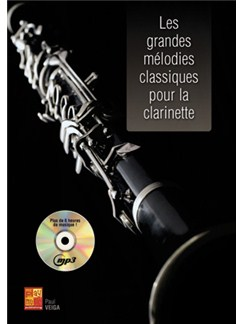 Grandes Melodies Classiques pour la Clarinette+CD Books and CDs | Clarinet